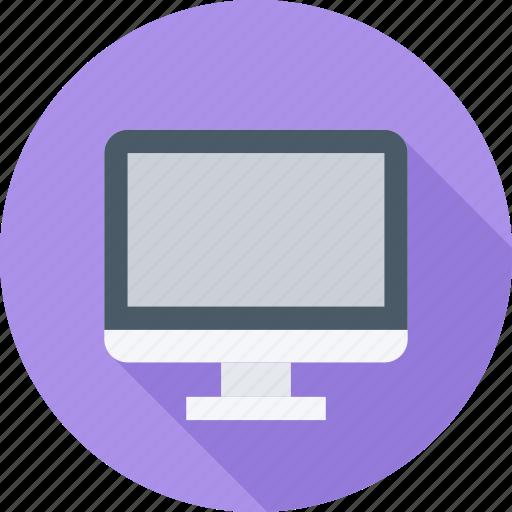 computer, monitor, monoblock, office icon