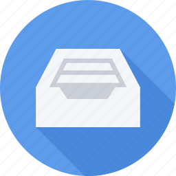 file, files, inbox, information icon