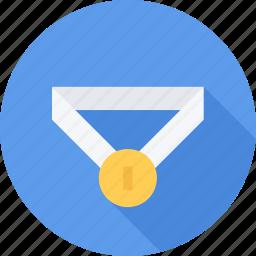 award, medal, reward, victory icon