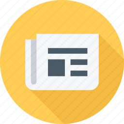information, news, newspaper, paper icon