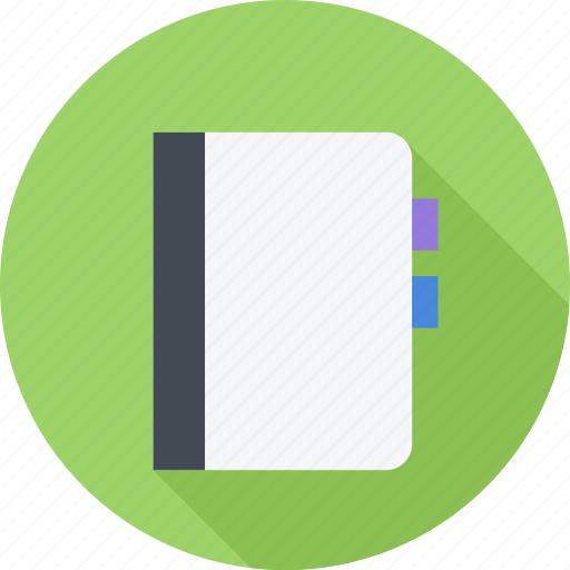 book, data, information, notebook icon