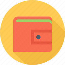 cash, money, payment, purse icon