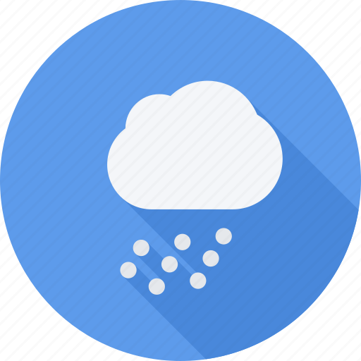 cloud, snow, snowing, weather icon