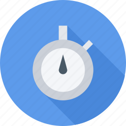 gym, sport, stopwatch, training icon