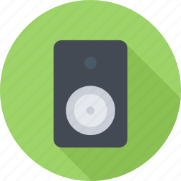 audio, music, sound, subwoofer icon