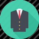 clothes, jacket, suit, tie