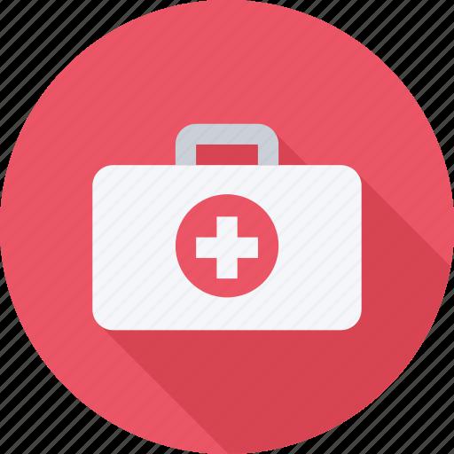 case, doctor, medicine, suitcase icon