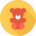 baby, bear, teddy bear, toy icon