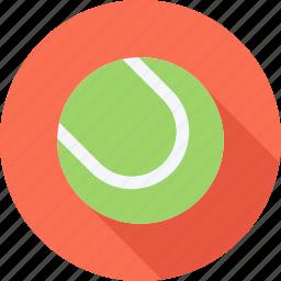 ball, tennis, tennis court, training icon