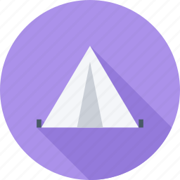 camping, forest, holiday, tent icon