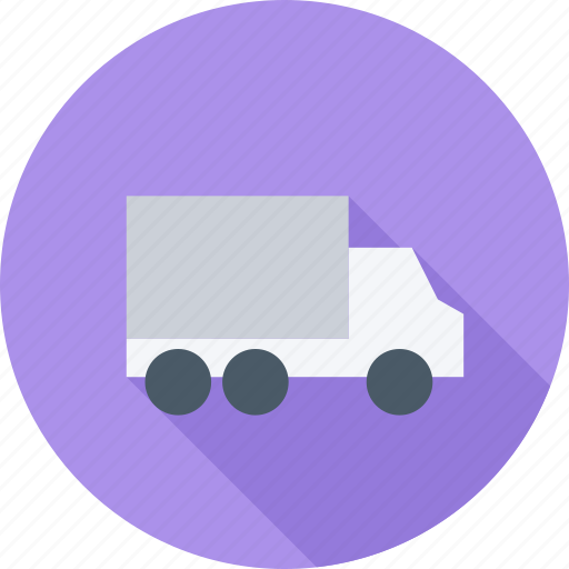 delivery, home, house, truck icon