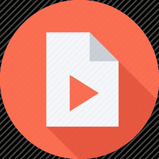 file, files, video, video file icon