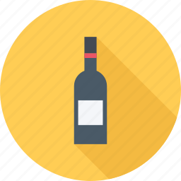 bottle, champagne, restaurant, wine icon