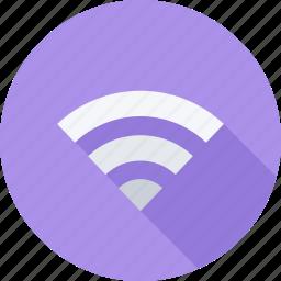 internet, wifi, wireless, wireless internet icon