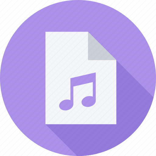audio, file, files, music icon