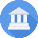 bank, court, credit, money icon