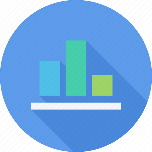 bar chat, graph, office, presentation icon