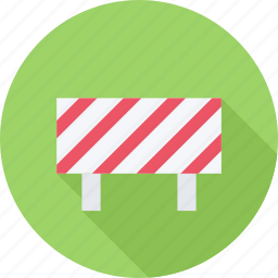 barrier, builder, building, repairs icon