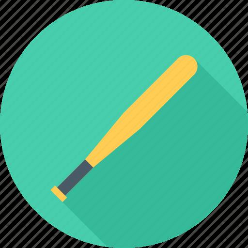 Baseball, baseball bat, bat, sport icon - Download on Iconfinder