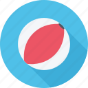 ball, beach, beach ball, holiday icon