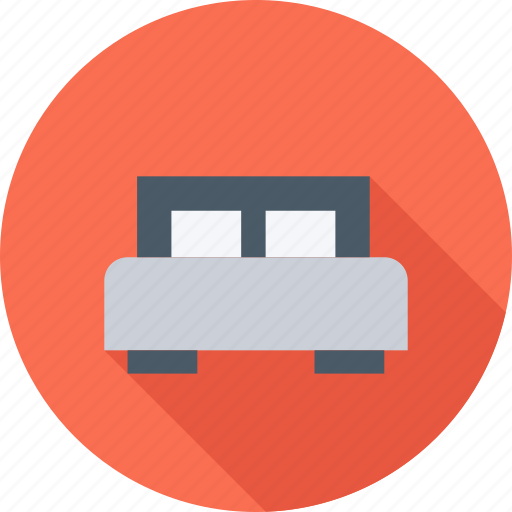 bed, furniture, house, pillow icon