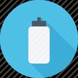 bottle, bottle of water, sport, water icon