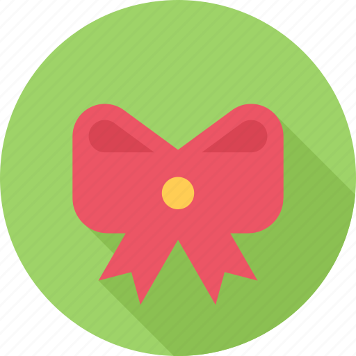 bow, christmas, gift, holiday icon