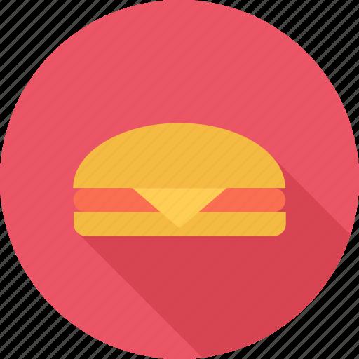 burger, cheeseburger, fast food, food icon