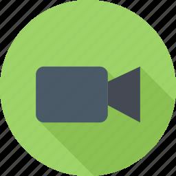 camera, film, video, webcam icon
