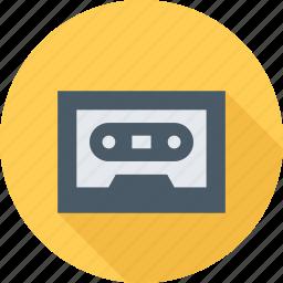 album, audio, cassette, music icon