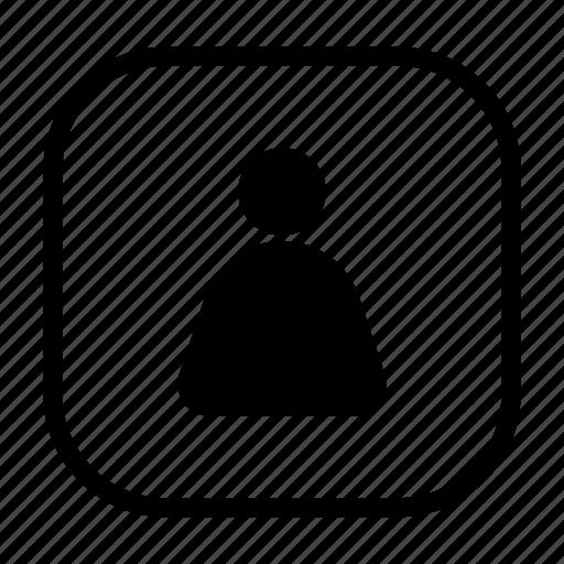 account, man, person, profile, user icon