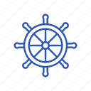 control, helm, rule, ship icon, steering wheel icon