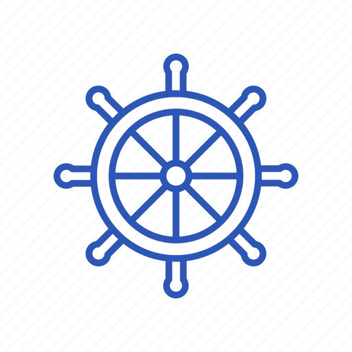 control, helm, rule, ship icon, steering wheel icon