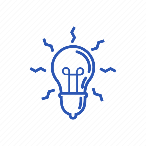 idea, lamp, thinking, thoughts icon