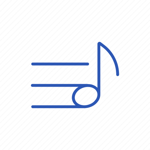music, note, play, sound icon icon