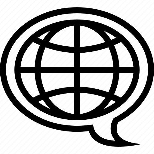 global, language, translate, translation icon