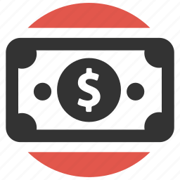 dollar, earnings, finance, money, pay, payment, shopping icon