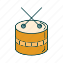 drum, music, rock, song icon