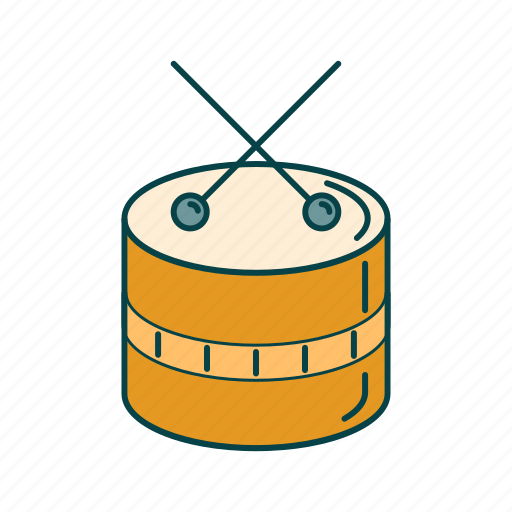 Drum, music, rock, song icon - Download on Iconfinder