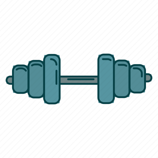 dumbbell, gym, healthy lifestyle, sport icon