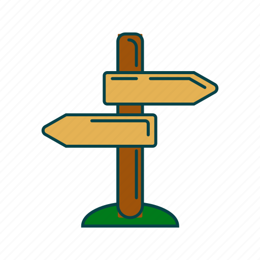 arrow, direction, sign, tablo icon