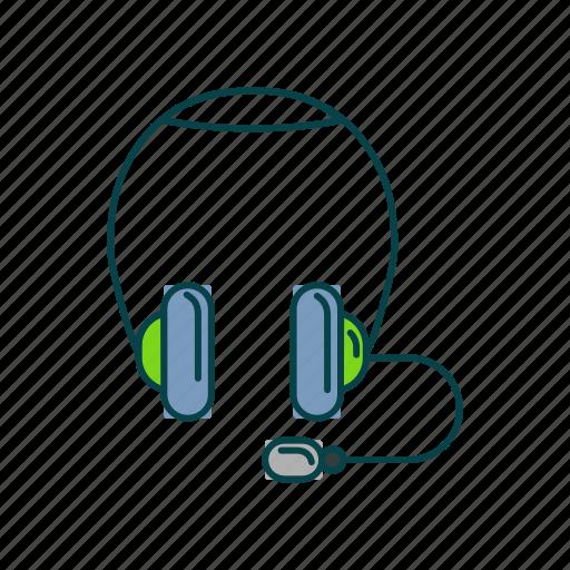 headphone, item, music, song icon