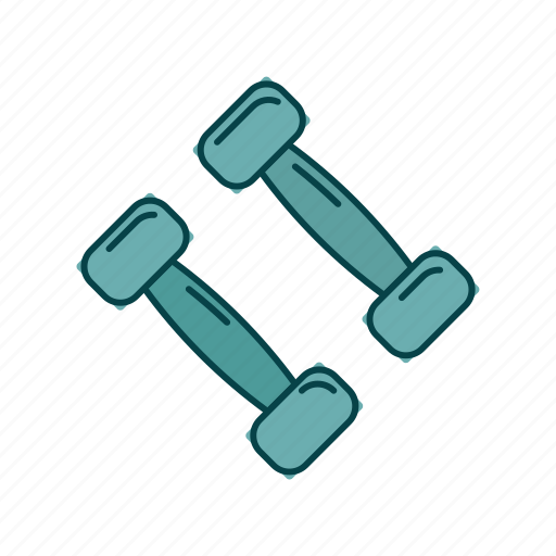 dumbbell, gym, sport, weights icon