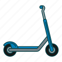 entertiment, ride, scooter icon