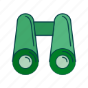 binoculars, see, tool, zoom