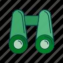 binoculars, see, tool, zoom icon