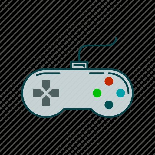 gamer, joystick, play, video games icon