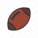 american football, ball, sport, usa icon