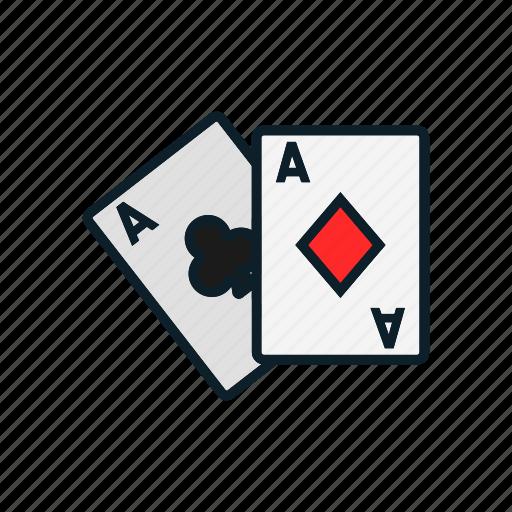 cards, entertainment, gambling, game, gamin icon