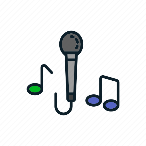 mic, microphone, multimedia, record icon icon